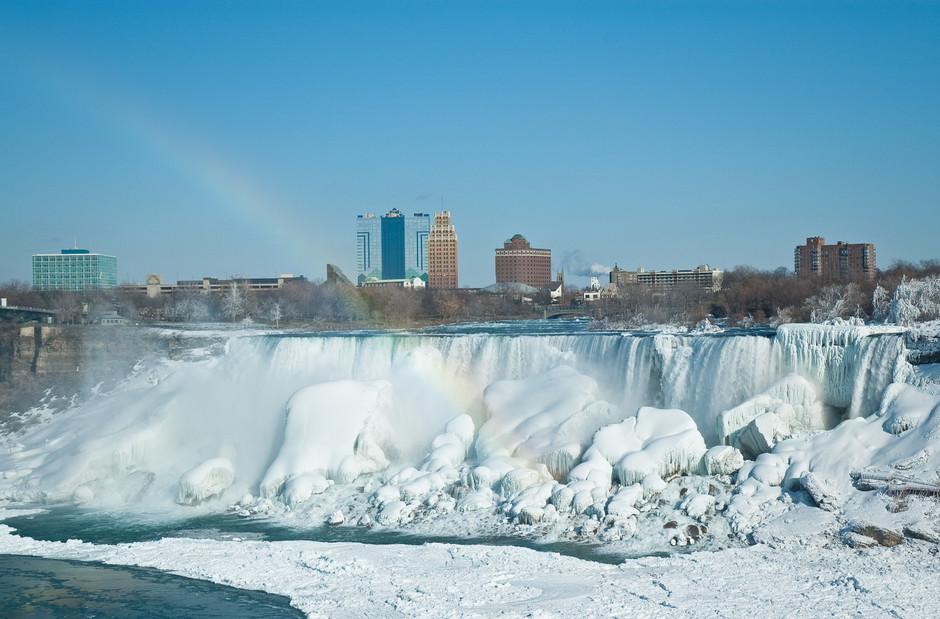 Niagara Falls in Winter Attire