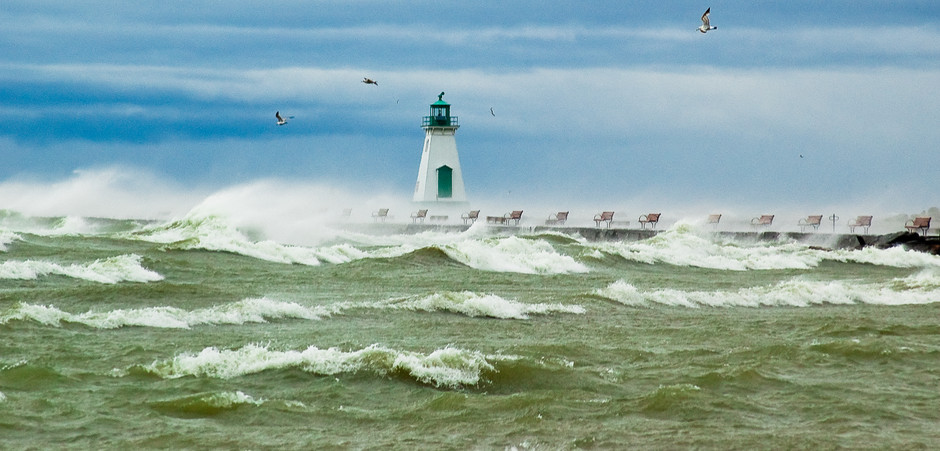 Storm on Lake Ontario