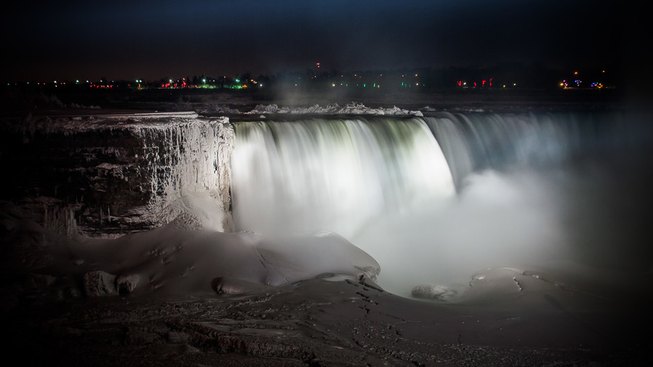 Niagara Falls, polar vortex edition