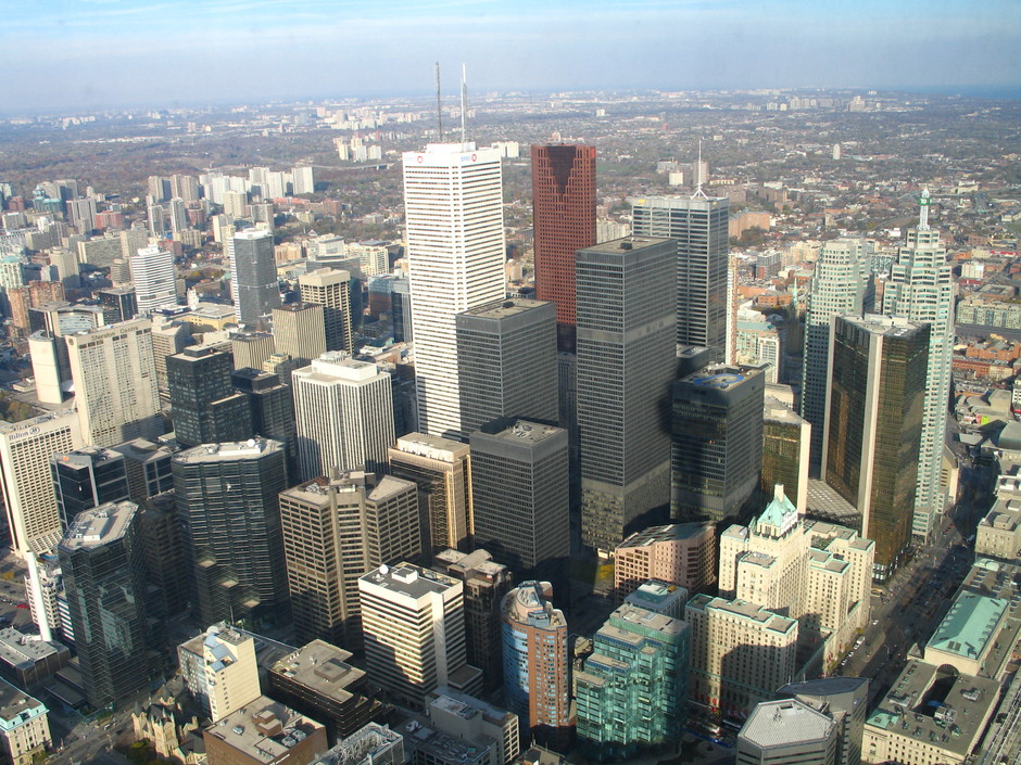 Toronto from the heavens