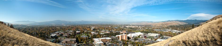 Panorama of Missoula, Montana